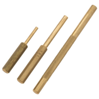 3 PCE BRASS PUNCH/DRIFT SET