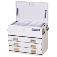 KINCROME Truck Box 3 Drawer White