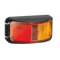SIDE MARKER LED RED/AMBER 9-33V