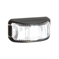 FRONT END OUTLINE MARKER CLEAR LED 12-24