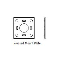 "10"" ELECTRIC BRAKE MOUNTING PLATE - 45MM"