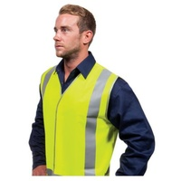 Force360 Yellow Day & Night Safety Vest XL
