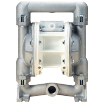 MACNAUGHT 1 DIAPHRAGM PUMP-ALUM/POLY