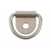 TIE DOWN RING ONLY FOR LR0042, MBS 300KG, YELLOW/ZINC PLATED