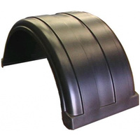 MUDGUARD PLASTIC 650mm BLACK