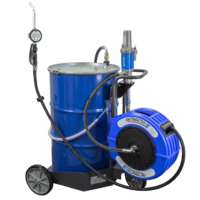 205LTR TROLLEY OIL DISPENSING  SYSTEM AIR 3:1, METERED GUN