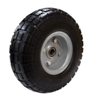 "250mm Offset Puncture Proof Economy Wheel | 3/4"" Axle Diameter (PF1072-75)"