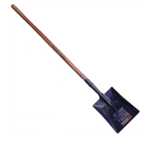 SHOVEL SQUARE MOUTH LONG TIMBER HANDLE