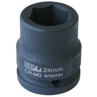 "SOCKET IMPACT 3/4""DR 6PT METRIC 19MM SP TOOLS"