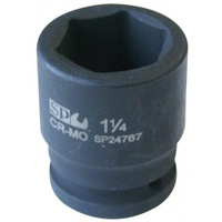 "SOCKET IMPACT 3/4""DR 6PT SAE 1-1/8"" SP TOOLS"
