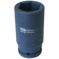 SOCKET IMPACT DEEP 3/4DR 6PT METRIC 24MM