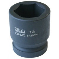 "SOCKET IMPACT 1DR 6PT SAE 1-1/8"" SP TOOLS"
