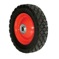150mm Semi Pneumatic Rubber Tyred Wheel | 1/2 Axle Diameter (SP6663-50)