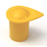 WHEEL NUT INDICATOR EXTENDED 22MM YELLOW