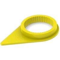 WHEEL NUT INDICATOR 33MM YELLOW